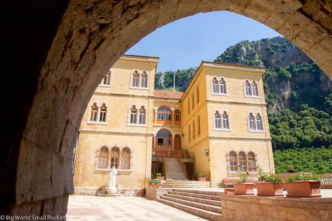 Lebanon, Qadisha, Kozhaya Monastery