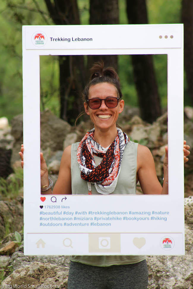Lebanon, Trekking Lebanon, Instagram
