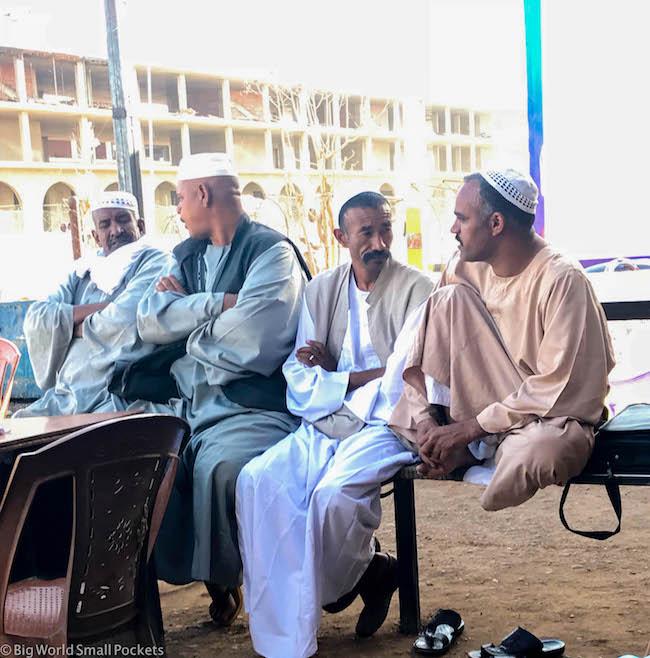 Sudan, Atbara, Local Men