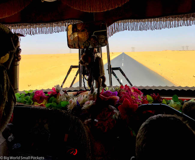 Sudan, Bus, Window