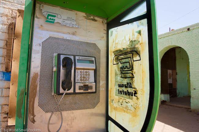 Sudan, Karima, Public Phone Box