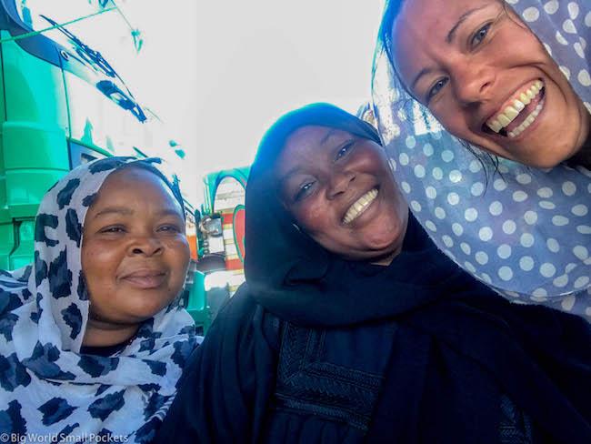 Sudan, Border Crossing, Friends