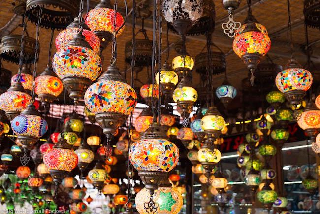 Turkey, Cappadocia, Lamp Store