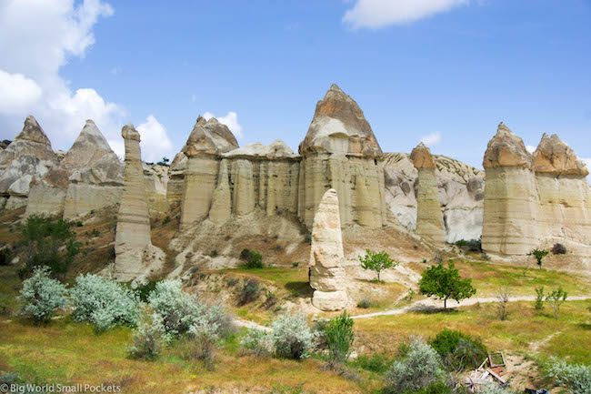 Turkey, Cappadocia, Love Valley Rocks