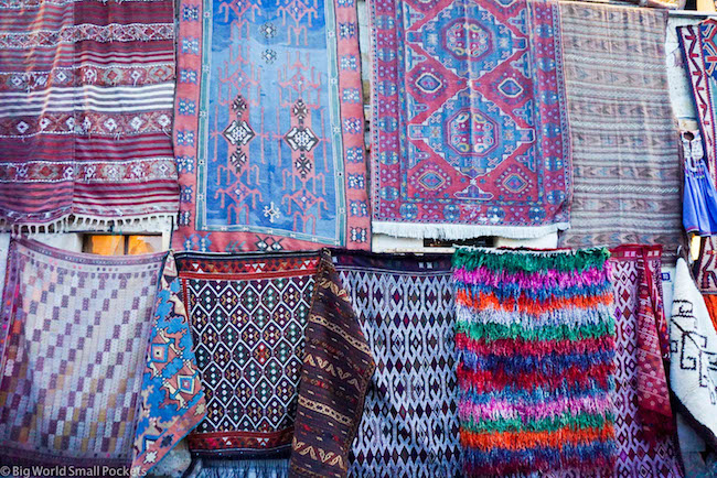 Turkey, Cappadocia, Rugs