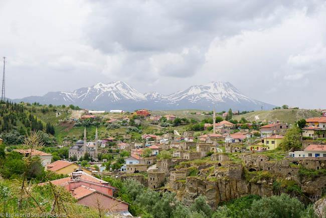 Turkey, Cappadocia, Volcanoes