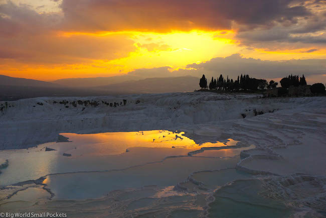 Turkey, Pamukkale, Sunset 6