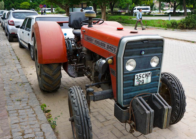 Turkey, Selcuk, Tractor