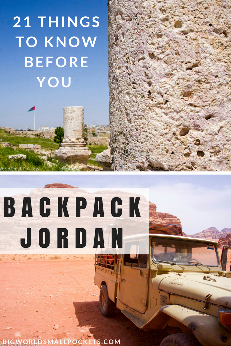 21 Things to Know Before You Backpack Jordan {Big World Small Pockets}
