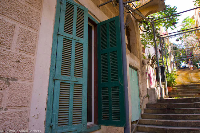 Beirut, Gemmayze, Window Shutters