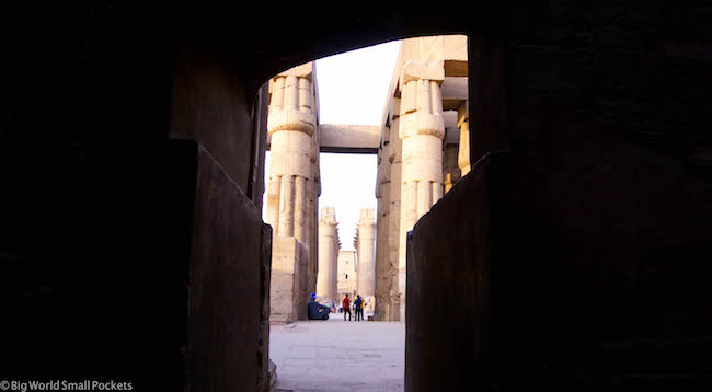 Egypt, Luxor, Doorway