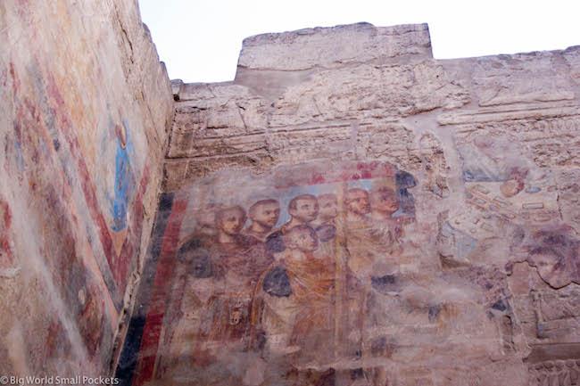 Egypt, Luxor, Luxor Temple Christian Artwork