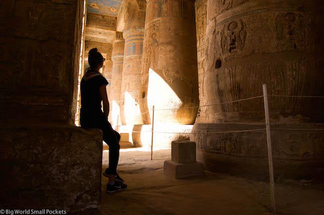 Egypt, Luxor, Medinat Habu and Me