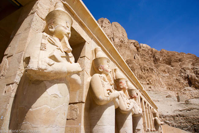 Egypt, Luxor, Temple of Hatshepsut