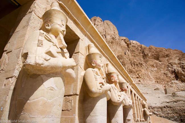 Egypt, Luxor, Temple of Hatshepsut