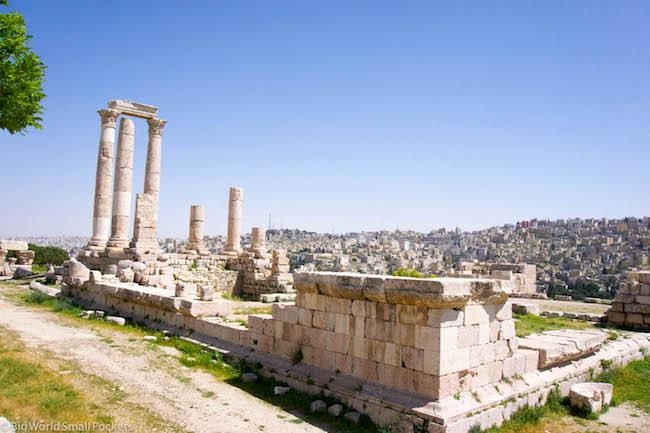 Jordan, Amman, Citadel