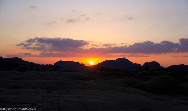 Jordan, Petra, Sunset