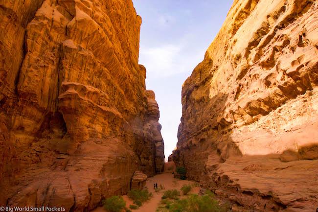 Jordan, Wadi Rum, Canyon