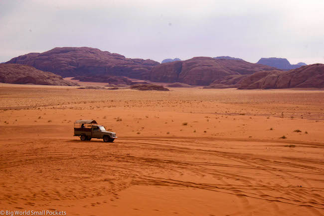 Jordan, Wadi Rum, Safari Tour