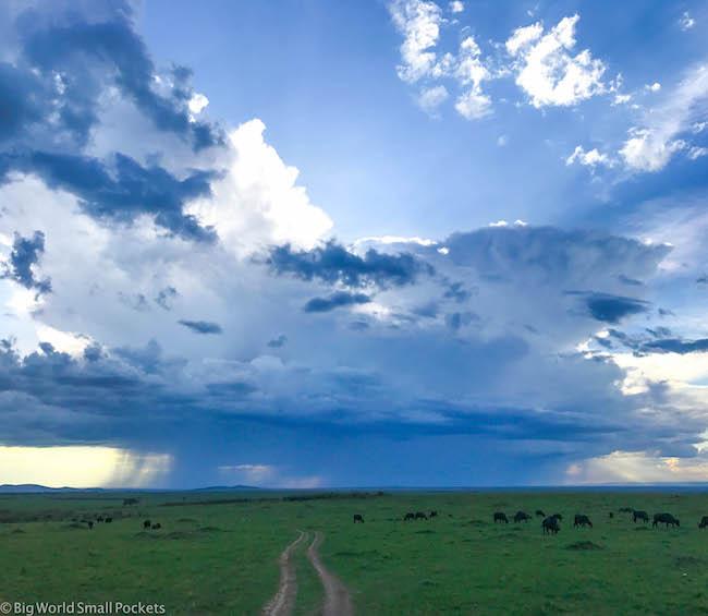 Kenya, Masai Mara, Rain Cloud