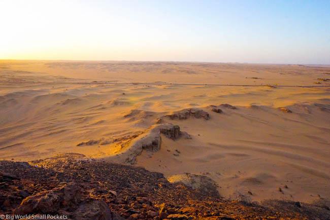 Sudan, Karima, Desert Sandscape