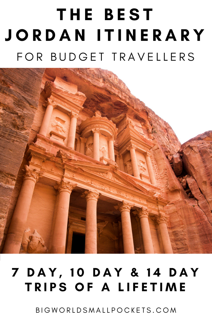 The Best Jordan Itinerary for Budget Travellers {Big World Small Pockets}