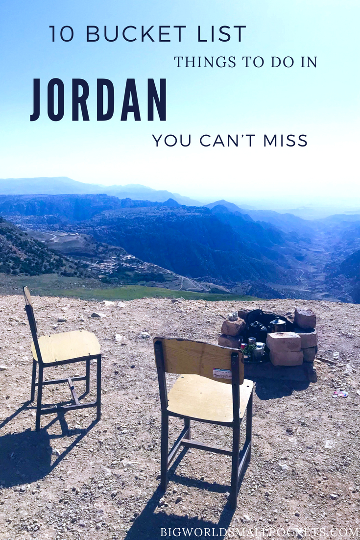10 Bucket List Things To Do in Jordan You Can't Miss {Big World Small Pockets}