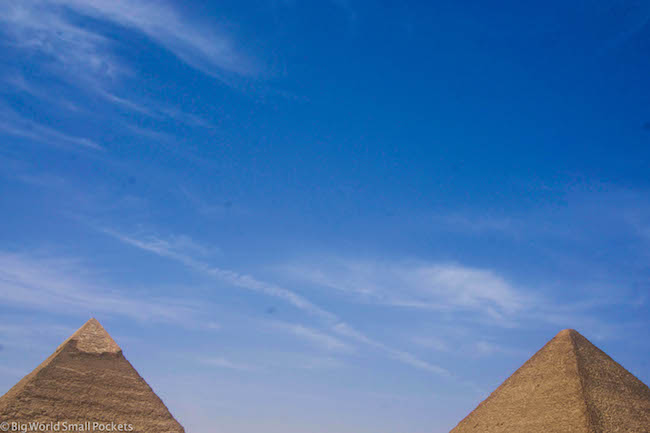 Egypt, Cairo, Pyramid Tops