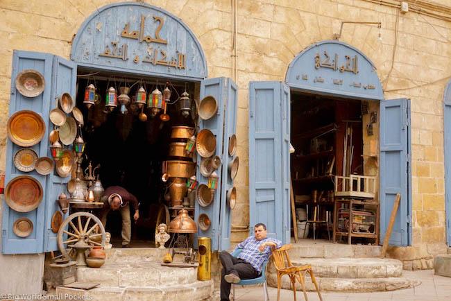 Egypt, Cairo, Shop Front
