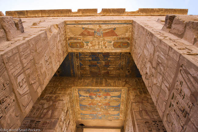 Egypt, Luxor, Temple Paintings