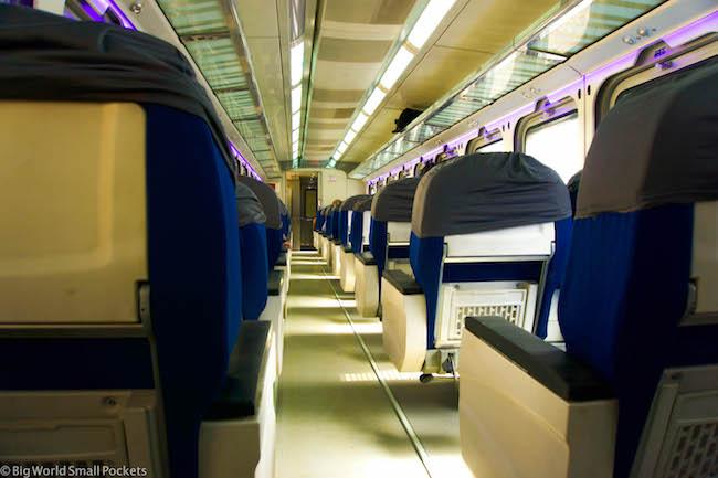 Egypt, Train, 1st Class