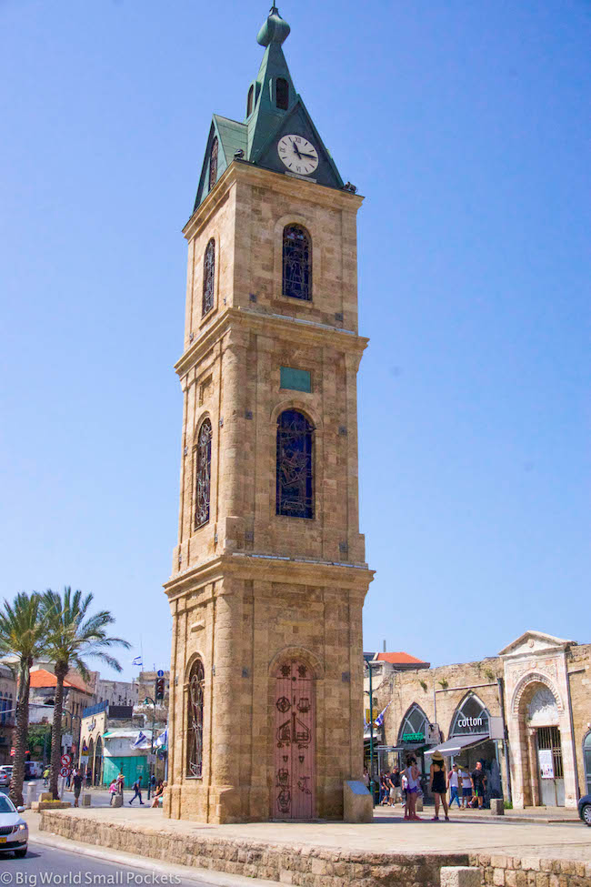 Israel, Tel Aviv, Clock Tower