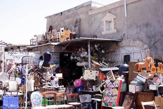 Israel, Tel Aviv, Flea Market