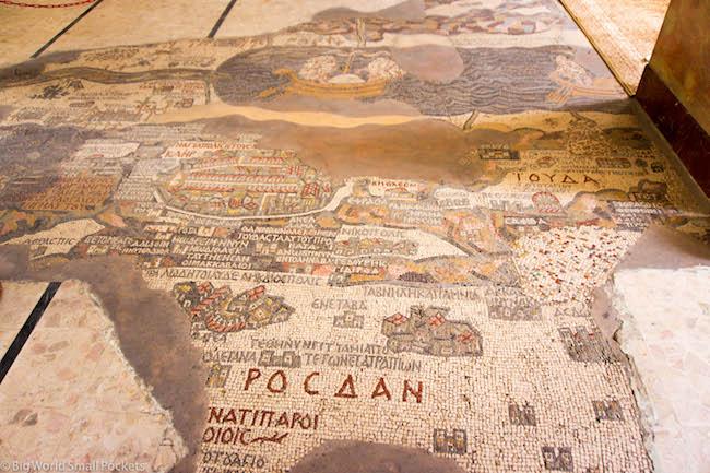 Jordan, Madaba, Mosaic