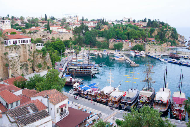 Turkey, Antayla, Harbour