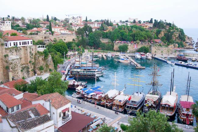 Turkey, Antalya, Harbour