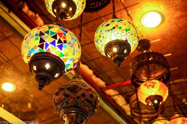 Turkey, Cappadocia, Lamps