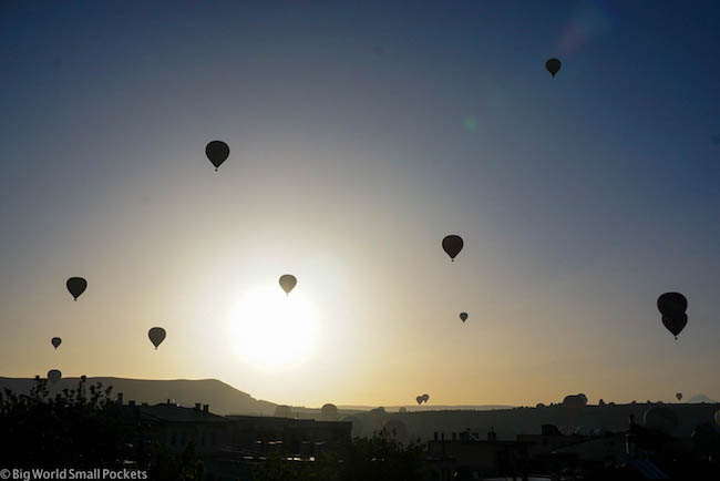 Turkey, Cappadocia, Sunrise