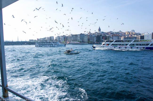 Turkey, Istanbul, Bosporus