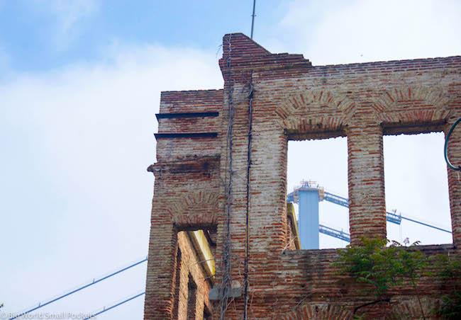 Turkey, Istanbul, Derelict Building