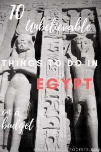 10 Unbelievable Things To Do in Egypt on a Budget {Big World Small Pockets}