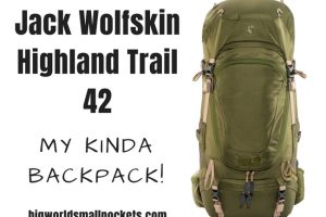 Jack Wolfskin Highland Trail 42 : My Kinda Backpack!