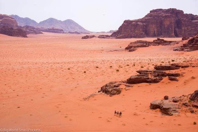 Jordan, Wadi Rum, Desertscape