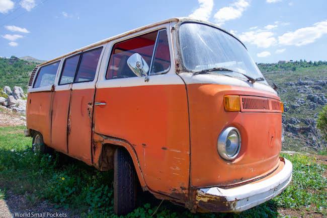 Lebanon, Bcharre, VW Camper