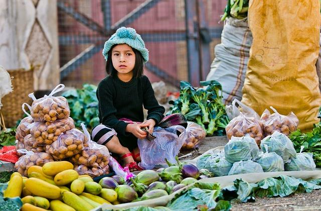 Myanmar, Market, Girl