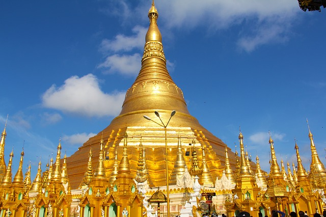 Myanmar, Temple, Golden