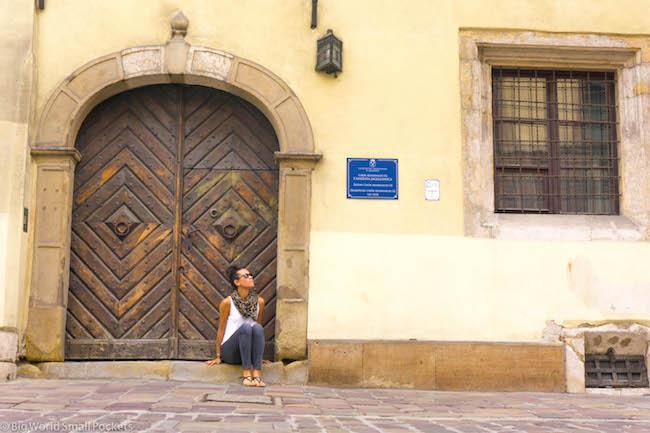 Poland, Krakow, Doorway