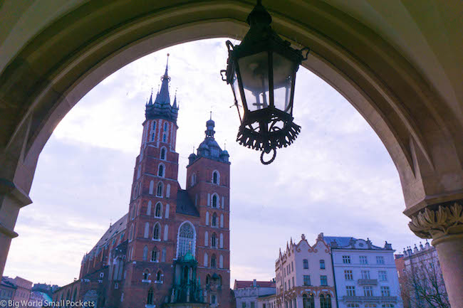 Poland, Krakow, St Marys Basilica