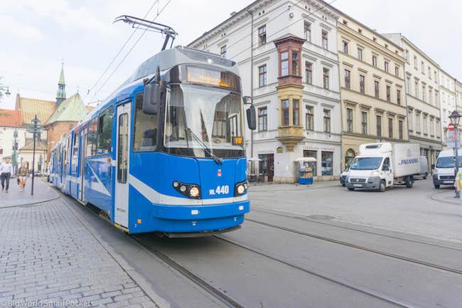 Poland, Krakow, Tram