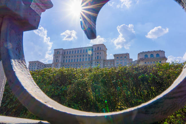 Romania, Bucharest, Palace of Parliaments